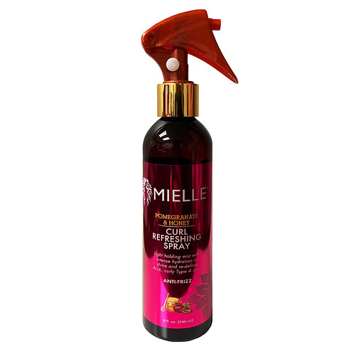 MIELLE POM/HONEY CURL REFRESHING SPRAY 8oz