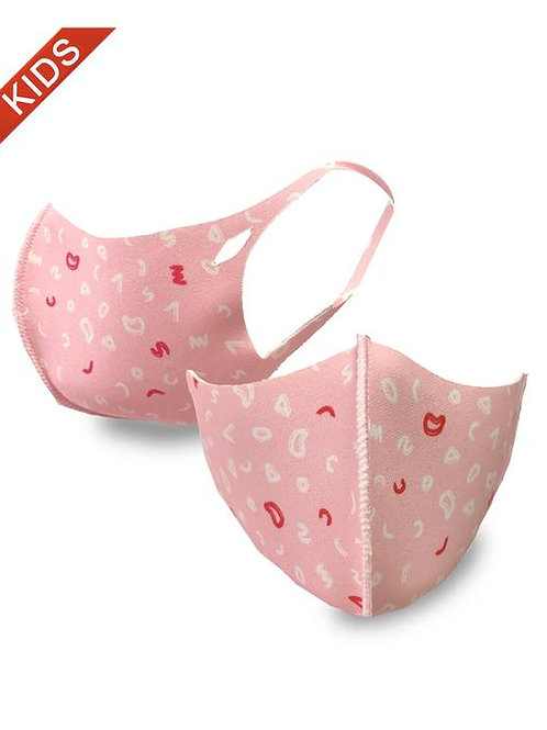 FASHION MASK  PINK FOR KIDS 10PCS