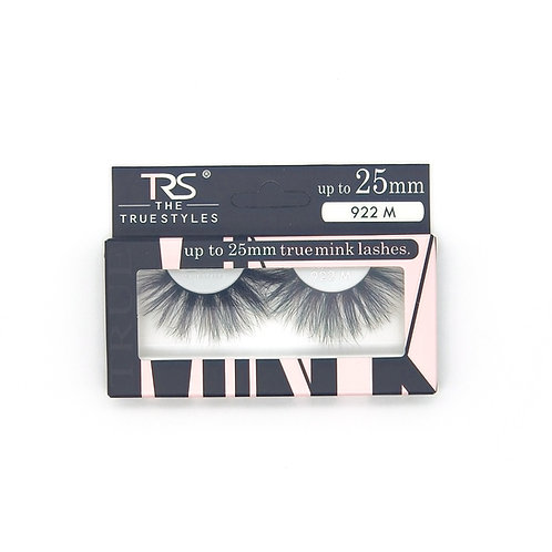 TRS True Mink 3D Eyelashes 25mm M922