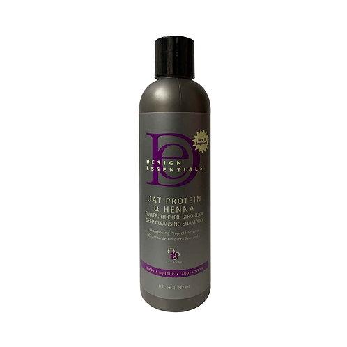 DESIGN Oat Protein Organic Cleansing Shampoo 8oz