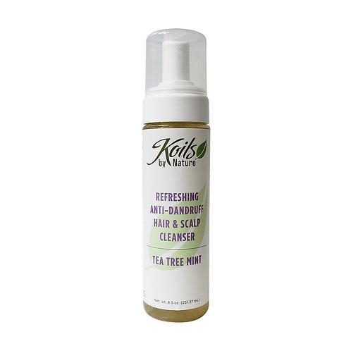 KOIL'S Refreshing Hair & Scalp Cleanser (Shampoo) - Tea Tree 8oz