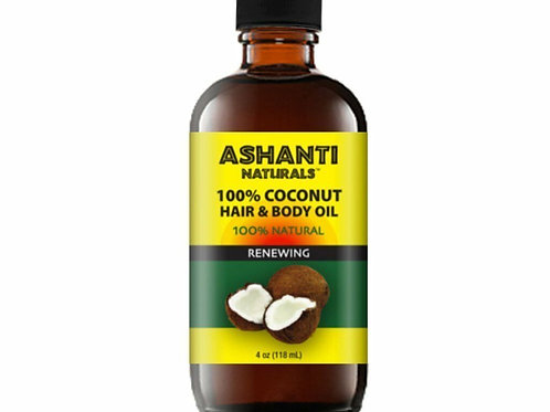 ASHANTI 100 % Coconut Oil 4oz