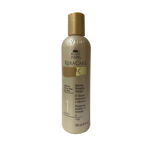 KERACARE Hydrating Detangling Shampoo (Sulfate Free) 8oz