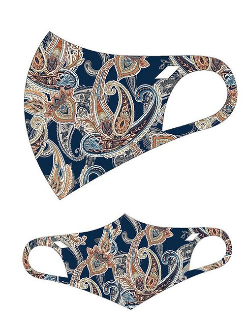 FASHION MASK  PAISLEY 10PCS