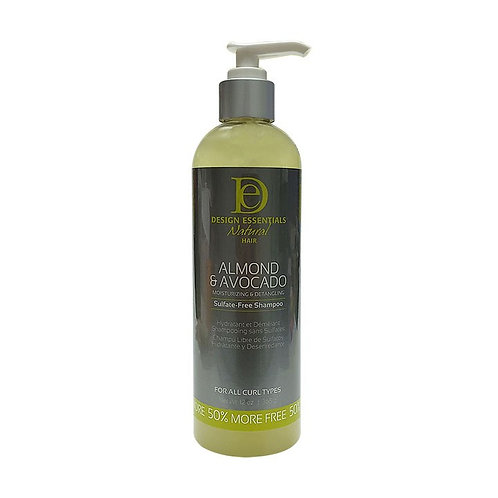 DESIGN Natural Avocado Detangling Shampoo 12oz