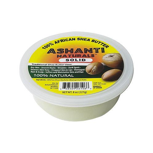 ASHANTI Solid White Shea Butter 8oz