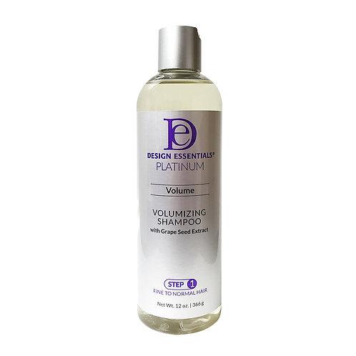 DESIGN Platinum Volumizing Shampoo W/ Grape Seed (Step 1) 12oz