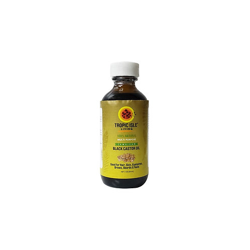 TROPIC ISLE Black Castor Oil 2oz