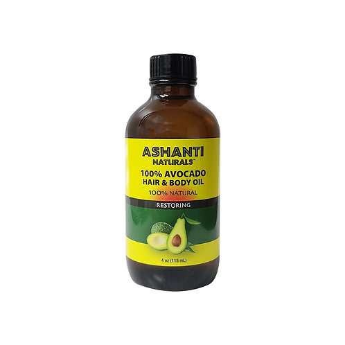 ASHANTI 100 % Avocado Oil 4oz