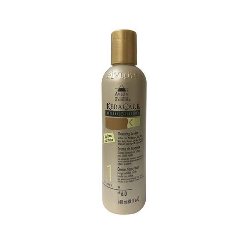 KERACARE Natural Textures Cleansing Cream 8oz