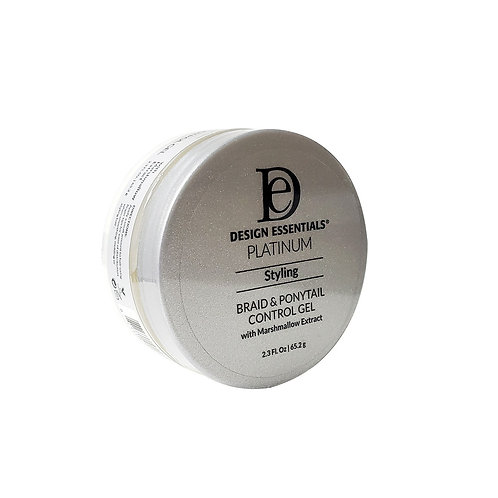 DESIGN Platinum Braid & Ponytail Control Gel  2.3oz