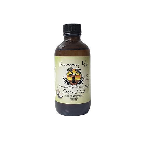 SUNNY ISLE Extra Virgin Coconut Castor Oil 4oz
