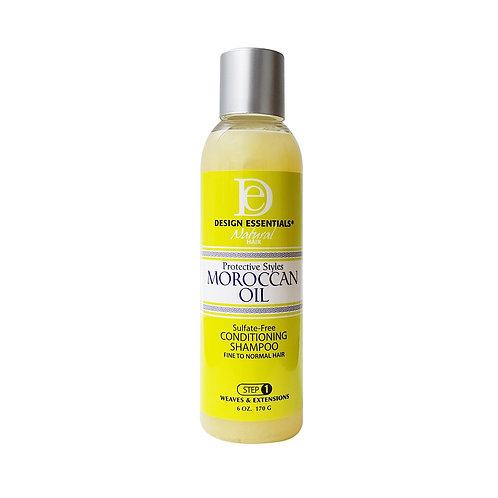 DESIGN Moroccan Oil Sulfate Free Conditioning Shampoo (Step 1) 6oz