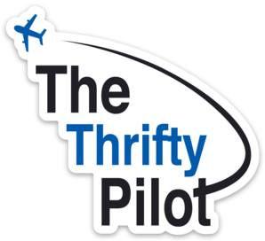 Offical Thrifty Pilot Sticker