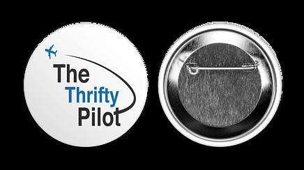 Offical Thrifty Pilot Button