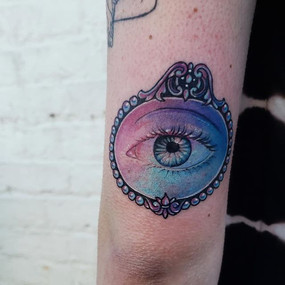 Lovers eye from my flash on Abby from ye