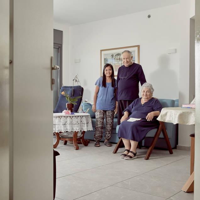 כרמלה 78, ראובן 80 ודוריס 42