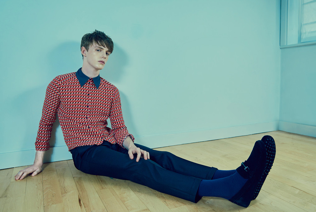 Kaltblut Magazine | Zane Page|Marta Vetere| Miti Kondo| Jack Dalby | Elite Models London | Liron Weissman Fashion Photographer