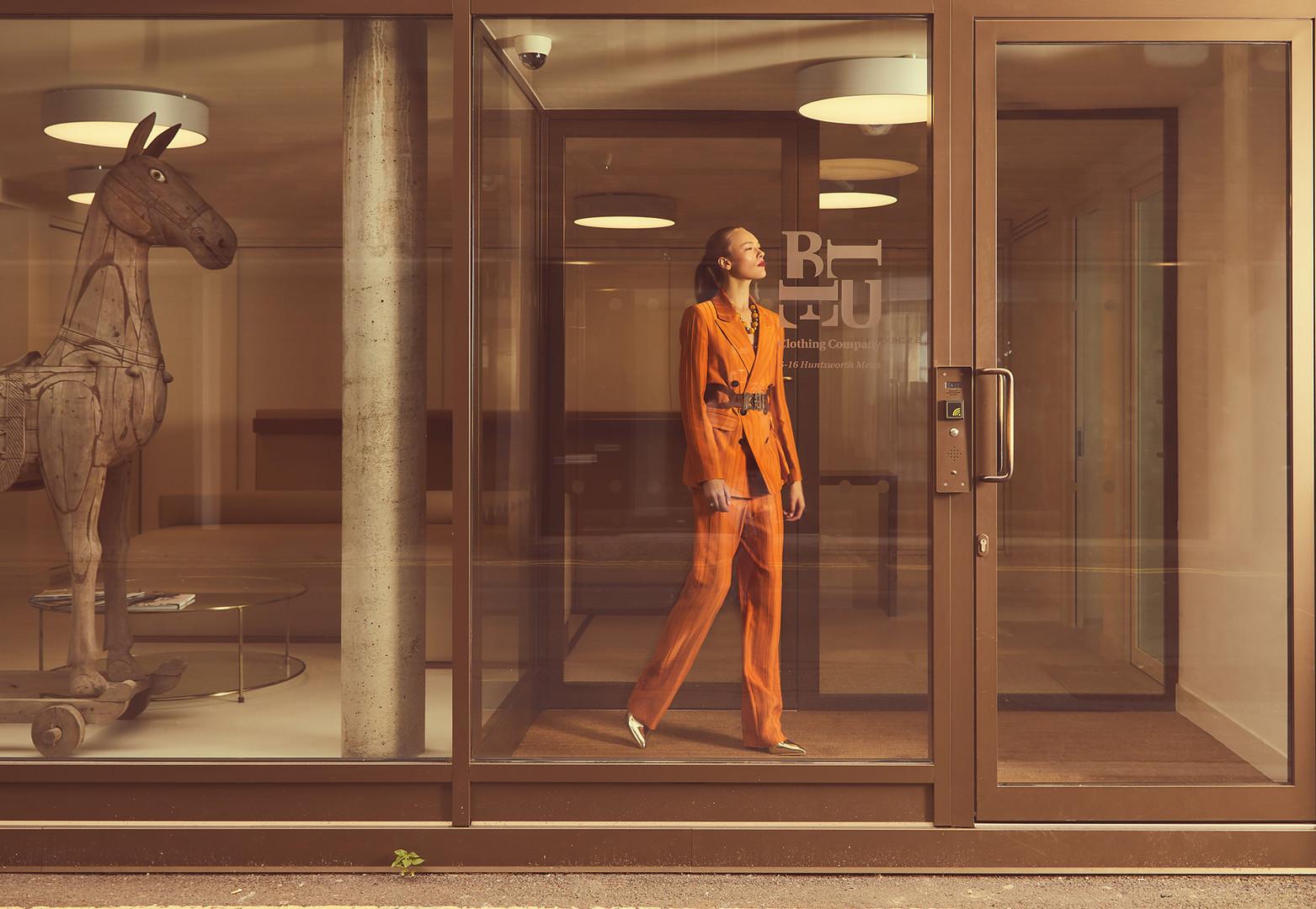 blue clothing uk campaign | Liron Weissman | Rachael Thomas | Profile Models | לירון ויסמן | London fashion photographer