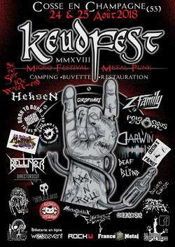 affiche Keudfest 2018