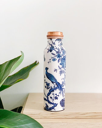 Copper Essential Copper Bottle – 950ml (Peacock)
