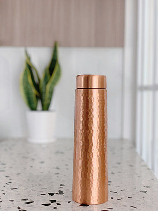 Copper Essential Copper Bottle - 900ml (Hammer Straight)