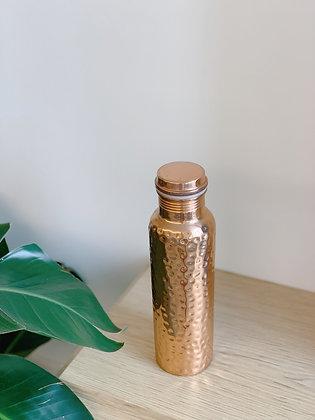 Copper Essential Copper Bottle - 650ml (Hammer)