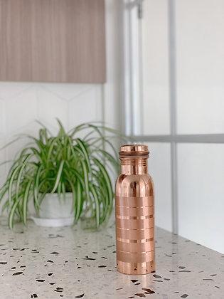 Copper Essential Copper Bottle - 650ml (Stripe)