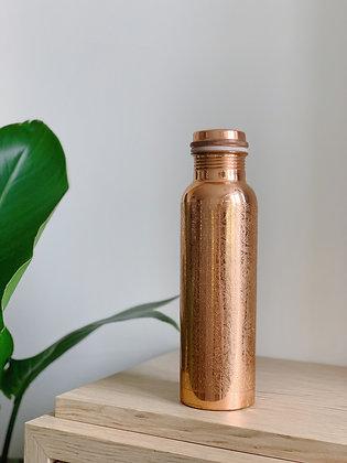 Copper Essential Copper Bottle – 650ml (Etching)