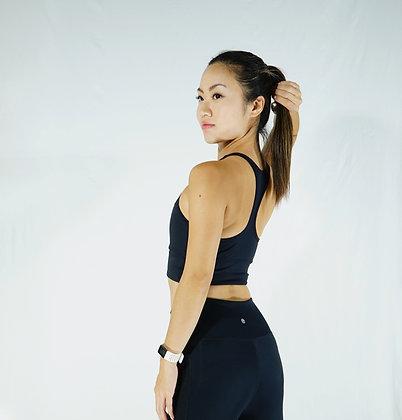 Amok Yoga Basic Sport Bra (Black)