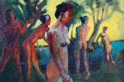 Marc-Kundmann-Bathers-by-the Lake