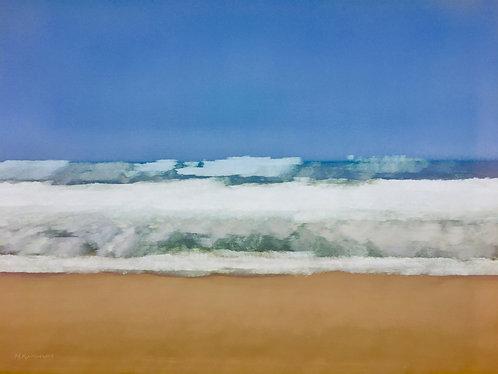 Building Surf, Longnook Beach
