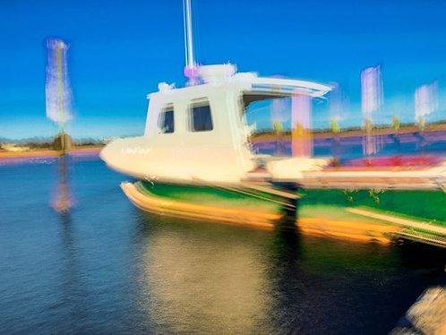 Docked, Wellfleet Harbor
