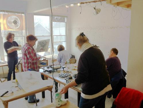 Encaustic Lab Group Workshop (per student)