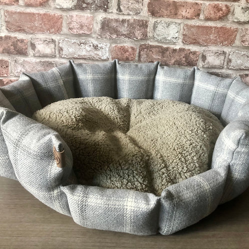 Luxury Handcrafted Dog Bed - Harris Collection