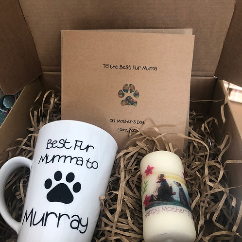 Fur Muma Personalised Mother's Day Gift Box
