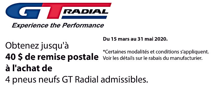Promo printemps Radial GT_Plan de travai