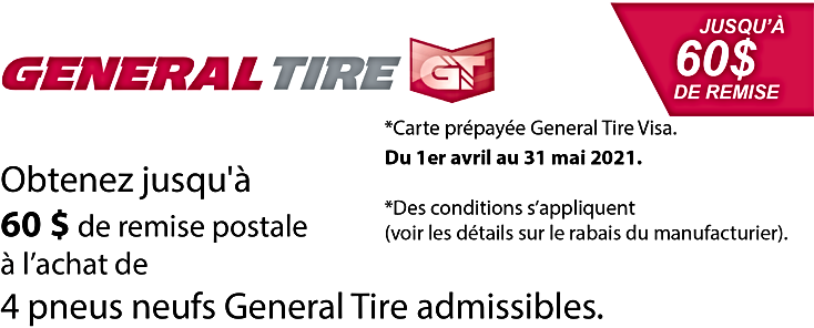 Promo printemps General Tire 60$ 2021.pn