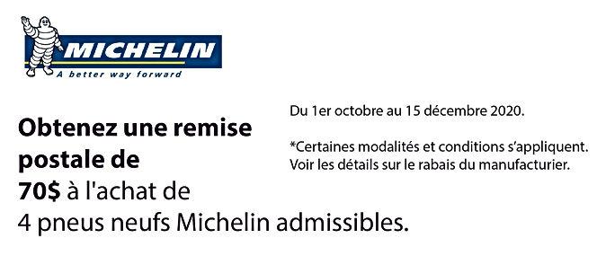 Promo  AUTOMNE Michelin_Plan de travail