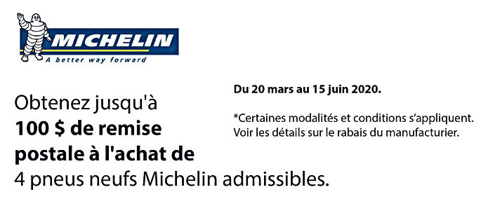 Promo printemps Michelin_Plan de travail