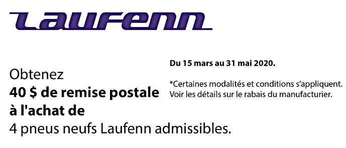 Promo printemps Laufenn tires_Plan de tr