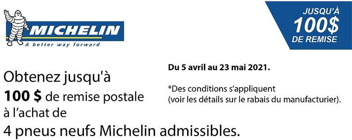 Promo printemps Michelin 100$ 2021.png