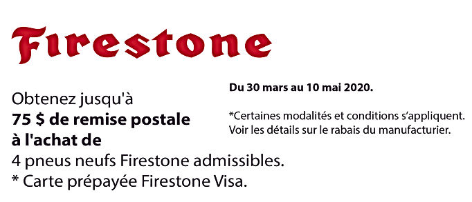 Promo printemps Firestone_Plan de travai