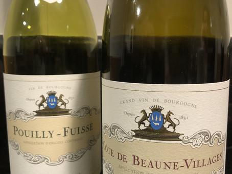 Pouilly-Fuissé 2017 & Côte de Beaune-Villages 2016
