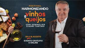 Melhor Sommelier do Brasil promove evento gratuito de Harmonização entre Vinhos e Queijos