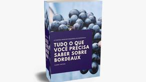 Sommelier Gianni Tartari lança eBook sobre Bordeaux