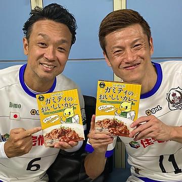 本田泰人選手・播戸竜二選手