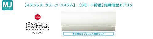 日立白くまくんRAS-MJ22K-W