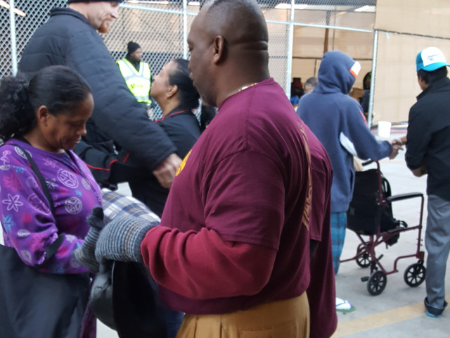 Community out reach in Santa Ana. Giving back and saving souls for Christ.