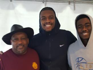 Brothers, Jordan & Justin helping give back to Santa Ana.